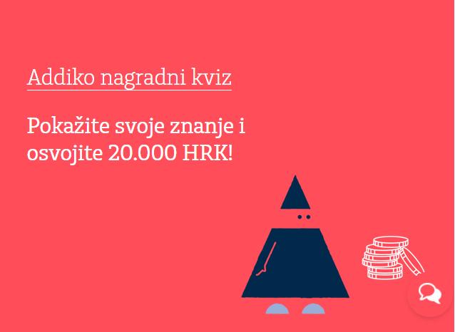 Osvojite 20.000 kuna uz Addiko kviz - Addiko Bank nagradni kviz 2017