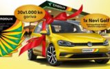 Crodux nagradna igra za VW GOLF i druge nagrade