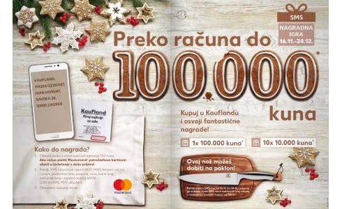 Kaufland: Preko računa do 100.000 kn