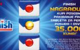 Konzum nagradna igra 2017 - Osvojite 35.000 kuna uz Finish