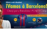 Konzum nagradna igra 2017 - Gillette te vodi u Barcelonu