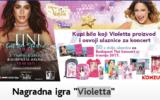 Konzum nagradna igra 2017 - Violetta
