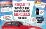 Osvojite Mercedes A klasu uz Ribolu -  Ribola nagradna igra 2017