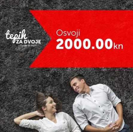 Osvojite 2.000 kuna za novi tepih - Tepih land nagradna igra 2017
